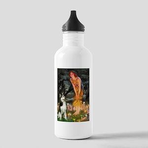 Mid.Eve / Siberian Husky Stainless Water Bottle 1.