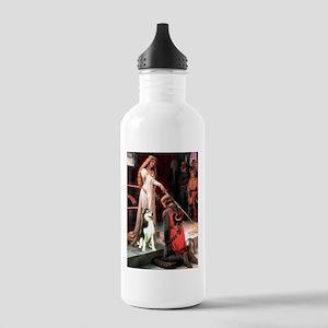 Princess / Siberian Husky Stainless Water Bottle 1