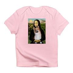 Mona Lisa / Welsh Corgi(p) Infant T-Shirt