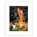 Fairies / Welsh Corgi Small Poster