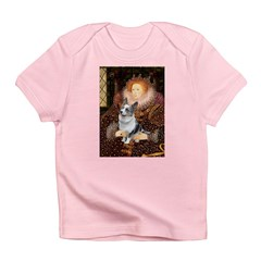 The Queen's Corgi (Bl.M) Infant T-Shirt