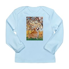 Spring / Corgi Long Sleeve Infant T-Shirt