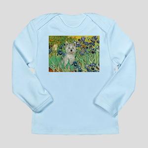 Irises / Westie Long Sleeve Infant T-Shirt