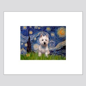 Starry - Westie (P) Small Poster