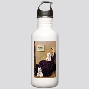 Whistlers Mom/2 Westies Stainless Water Bottle 1.0