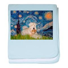 Starry / Wheaten T #1 baby blanket