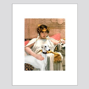 Cleopatria & her Whippet Small Poster