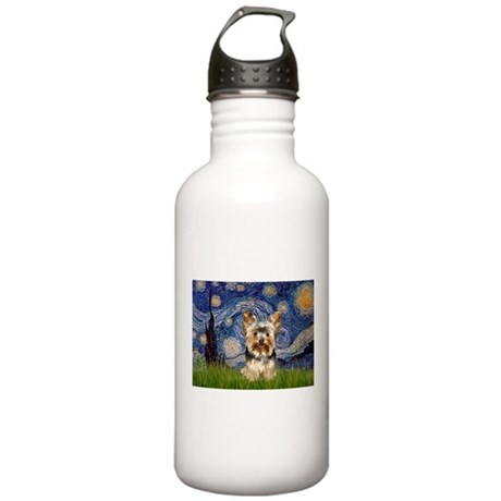 STARRY / Yorkie (17) Stainless Water Bottle 1.0L