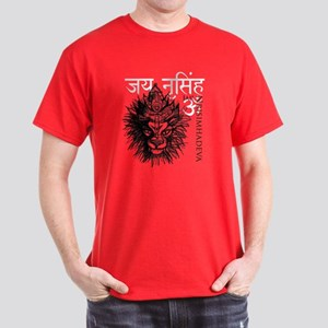 Nrisimhadeva Sketch Dark T-Shirt