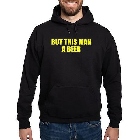 Buy This Man A Beer Hoodie (dark)