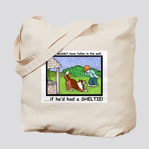 Timmy in the well Tote Bag