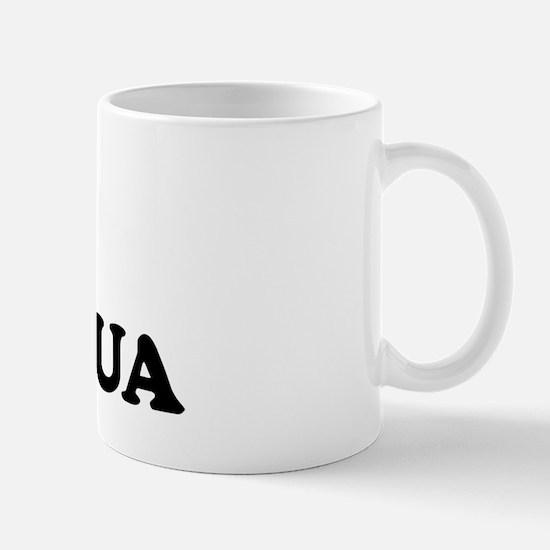 I Love Antigua Mug