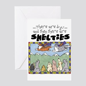 Super Shelties Greeting Card
