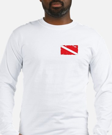 Dive flag #4 Long Sleeve T-Shirt