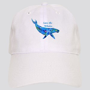 Humpback Save the Whales Cap