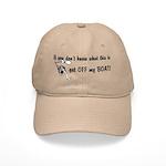 Get OFF my BOAT Cap