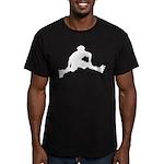 Skate Trick Men's Fitted T-Shirt (dark)