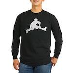 Skate Trick Long Sleeve Dark T-Shirt