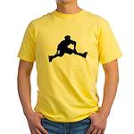 Skate Trick Yellow T-Shirt