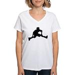 Skate Trick Women's V-Neck T-Shirt