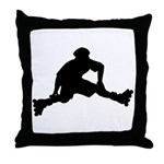 Skate Trick Throw Pillow