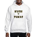 Jewish - Kush 'n' Tukas - Yiddish - Hooded Sweatsh
