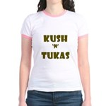 Jewish - Kush 'n' Tukas - Yiddish - Jr. Ringer T-S