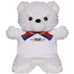 Dartboard Locket Teddy Bear