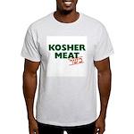Jewish - Kosher Meat! - Ash Grey T-Shirt