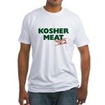 Jewish - Kosher Meat! - Fitted T-Shirt