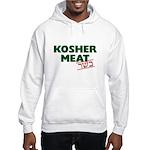 Jewish - Kosher Meat! - Hooded Sweatshirt
