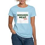 Jewish - Kosher Meat! - Women's Pink T-Shirt