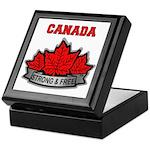 Canadian Pride STRONG & FREE Keepsake Box