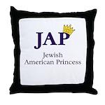 Jewish American Princess - JAP - Throw Pillow