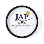 Jewish American Princess - JAP - Wall Clock