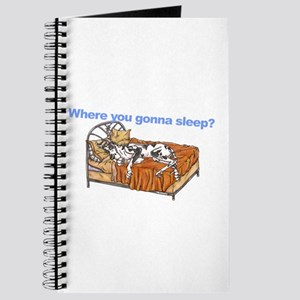 CH Where you gonna sleep Journal