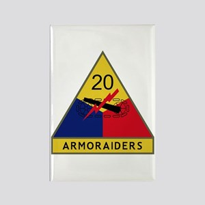 Armoraiders Rectangle Magnet