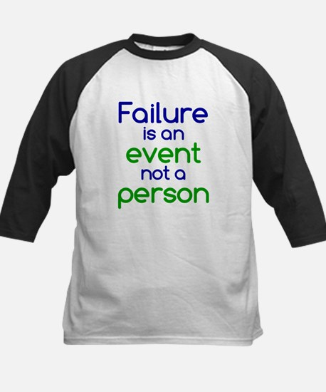 Failure is not a Person Kids Baseball Jersey