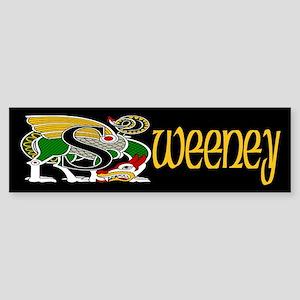 Sweeney Celtic Dragon Bumper Sticker
