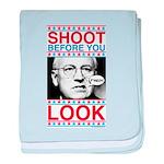 Cheney Shoot baby blanket