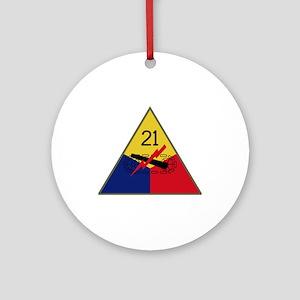21st AD Ornament (Round)