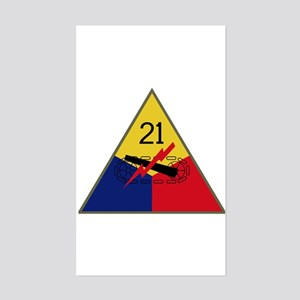 21st AD Sticker (Rectangle)