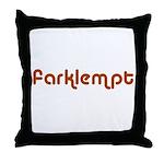 Jewish - Farklempt!! - Yiddish - Throw Pillow