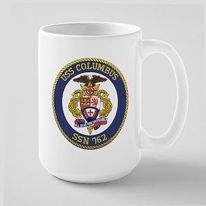 USS Columbus SSN 762 Large Mug