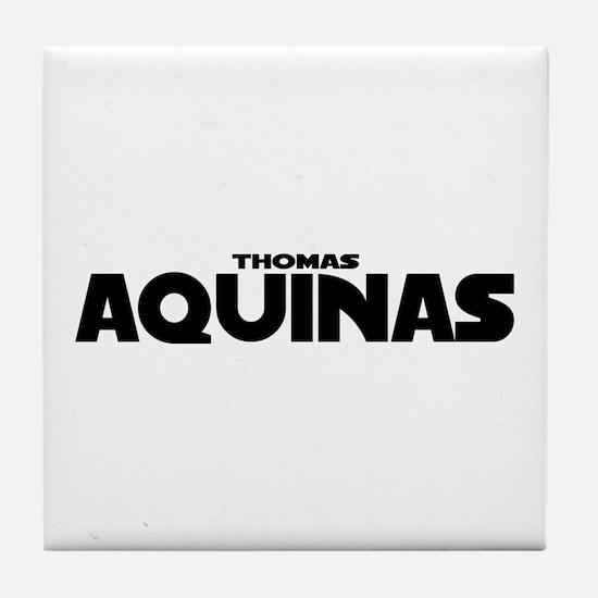 Thomas Aquinas Tile Coaster