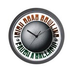 Irish Road Bowling Wall Clock