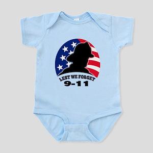 Remember 9-11 Fireman Infant Bodysuit