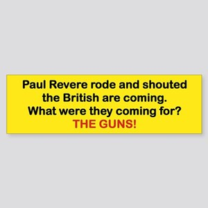 PAUL REVERE RODE AND SHOUTED THE BRTISH...