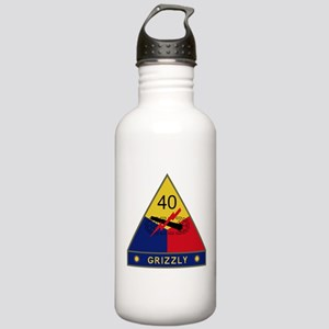 Grizzly Stainless Water Bottle 1.0L