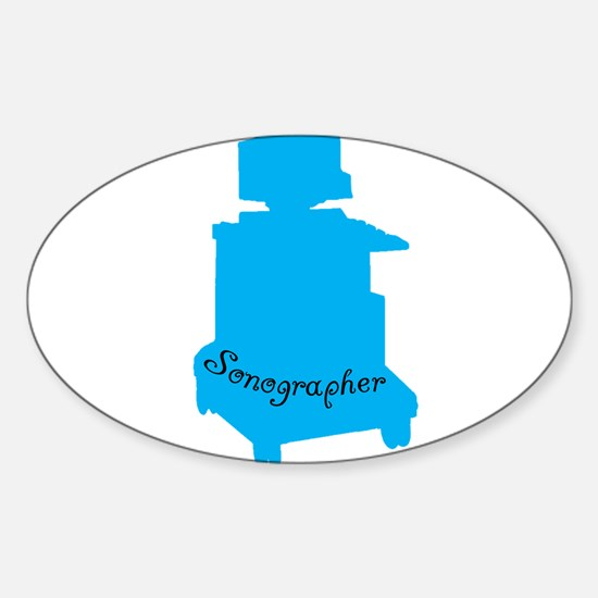 Professional Occupations Sticker (Oval)